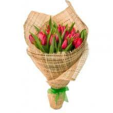 """Букет тюльпанов  """"Лесная свежесть"""""""