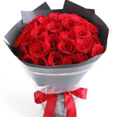 """25 красных роз  """"Утонченность"""""""