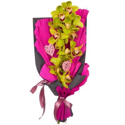 """Букет """"Необычная орхидея"""""""