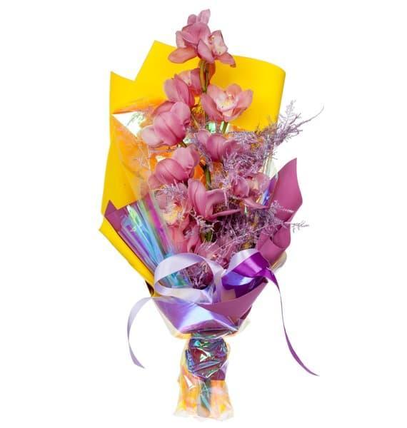 Букет орхидей Оригинальный