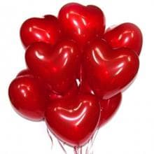 7 воздушных гелиевых шаров