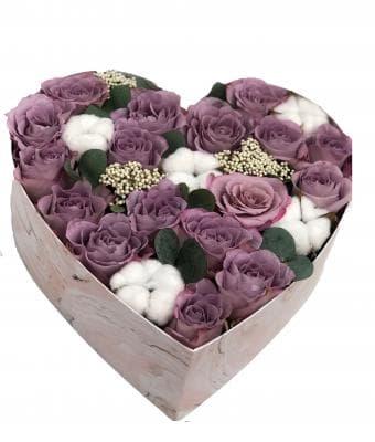 """Цветы в коробке """"Долина страсти"""""""