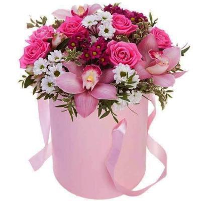 """Цветы в коробке """"Леди"""""""
