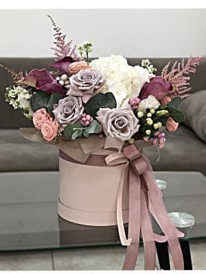 """Цветы в коробке """"Умиление"""""""