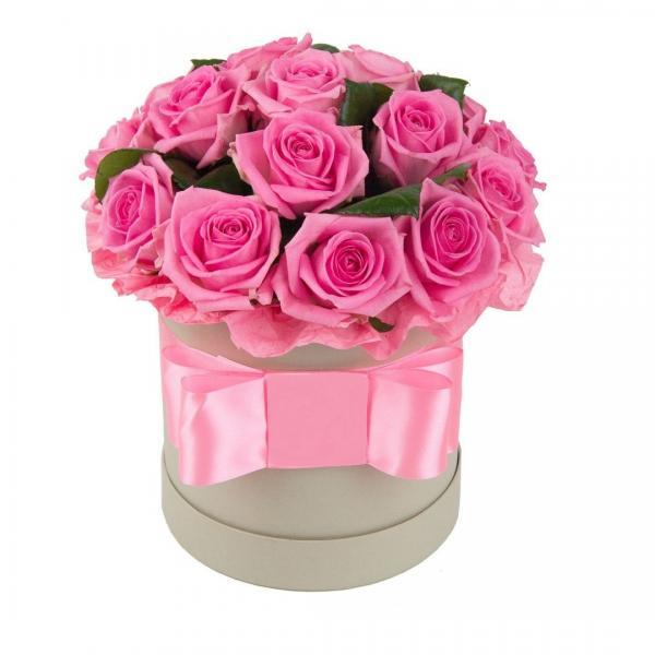"""цветы в коробке """"Юность"""""""