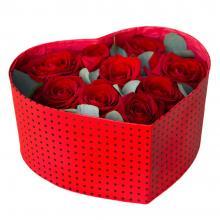 """Розы в коробке """" Любовь"""""""