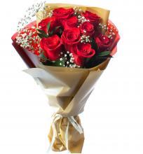 """9 красных роз """"Романтика"""""""