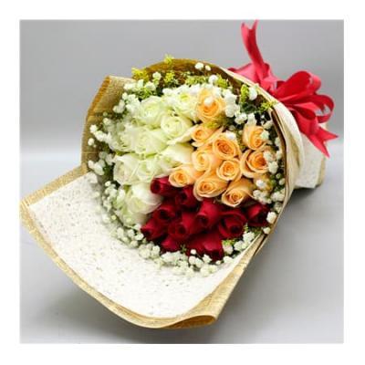 """Букет """"Трепет розы"""" из 33 роз"""