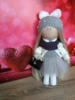 Интерьерная куколка Lulu №3
